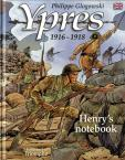 Henry's notebook Ypres BD en anglais