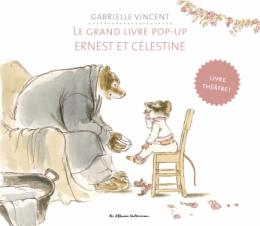 grand livre pop up ernest et célestine gabrielle vincent